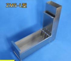 THIẾT BỊ THỬ ĐỘ CHẢY CỦA BÊ TÔNG TỰ LÈN KIỂU L - BOX EN 12350-10 Phương pháp thí nghiệm này chủ yếu được sửdụng để đánh giá sự xâm nhập của bê tông tự đầm, nghĩa là khả năng đi qua các thanh thép dày đặc.  Khuôn được sử dụng trong phương pháp này chủ yếu bao gồm một hộp hình chữ L làm bằng thép tấm, cửa di chuyển của tấm vách ngăn, lưới thép có thể tháo rời và tương tự.