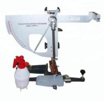THIẾT BỊ XÁC ĐỊNH HỆ SỐ MA SÁT BỀ MẶT Đây là thiết bị dùng để xác định đặc tính ma sát của bê mặt phẳng bằng thí nghiệm con lắc Anh. Phương pháp này đưa ra quy trình đo các đặc tính ma sát bê mặt bằng thiết bị thí nghiệm kháng trượt con lắc Anh (British Pendulum Skid Resistance Tester).