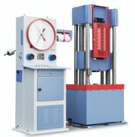 MÁY KÉO THÉP 1000KN ĐỒNG HỒ HIỂN THỊ CƠ là thiết bị dùng để thí nghiệm kéo thép, nén thép, uốn thép nhằm kiểm tra đánh giá chất lượng của thép xây dựng và một số vật liệu xây dựng khác như bê tông xi măng, sợ phi kim..., Máy kéo thép 1000kn có lực kéo, nén, uốn tương đương 100 tấn. Hiển thị kết quả thí nghiệm bằng đồng hồ cơ. Đây là dòng máy hiện nay đang được dùng rất phổ biến trong các phòng thí nghiệm, các công trình xây dựng vì các tính năng ưu việt của nó mang lại, như độ bền cao, chịu được thời tiết nóng ẩm, dễ vận chuyển, dễ bảo trì sửa chữa,...