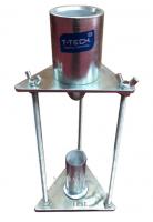 THIẾT BỊ XÁC ĐỊNH ĐỘ GÓC CẠNH CỦA CÁT là dụng cụ dùng để xác định độ góc cạnh của cát (cát thiên nhiên, cát xay, hỗn hợp cát thiên nhiên và cát xay) ở trạng thái rời, theo tiêu chuẩn TCVN 8860-7 : 2011. Chỉ tiêu tổng hợp nhằm đánh giá hình dạng và trạng thái bề mặt của cốt liệu mịn (cát).