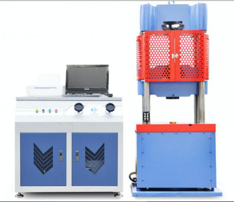 MÁY KÉO THÉP 2000KN là thiết bị dùng trong thí nghiệm, kiểm tra chất lượng thép bằng phương pháp kéo thép, uốn thép với lực kéo - nén - uốn lên tới 2000kn ( 200 tấn ). Ngoài ra máy còn được sủ dụng để thí nghiệm, kiểm tra chất lượng các loại vật liệu khác như bê tông xi măng, vật liệu phi kim loại. Máy kéo thép model: WA-2000C hoạt động bằng động cơ điện, nguồn điện 380V, bộ điều khiển trung tâm bằng máy tính hiện đại cung cấp các thông tin về lực kéo - nén - uốn, biểu đồ, và in kết quả ngay sau quá trình thí nghiệm.