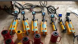 BỘ THÍ NGHIỆM KÉO RÚT THÉP CẤY là dụng cụ dùng để thí nghiệm kiểm tra kết cấu của thép cấy chờ ngoài hiện trường, trong các hạng mục công trình đã thi công.