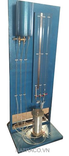 BẢNG THẤM CỘT NƯỚC ĐƠN, Bang tham cot nuoc don, Bảng thấm cột nước không đổi, Thiết bị thấm đất cát theo tiêu chuẩn ASTM D2434
